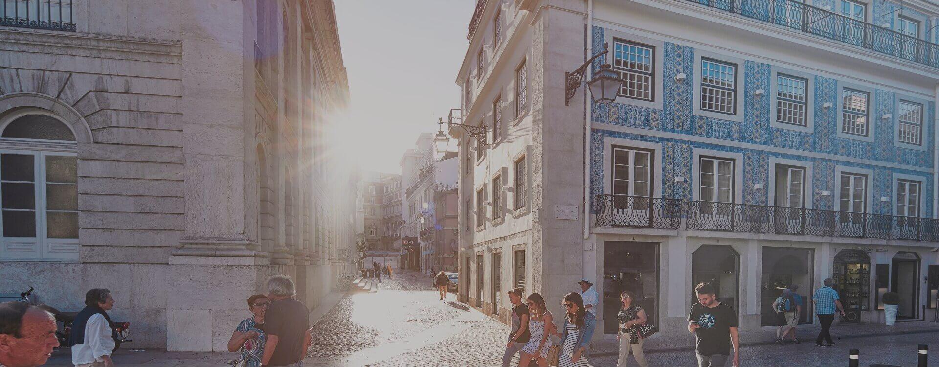 no coração de Lisboa